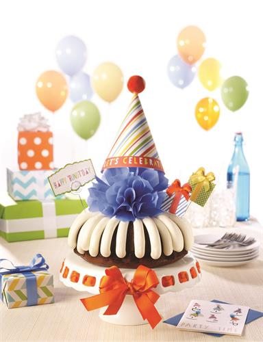 "Celebrate birthdays - 8"" & 10"" Bundt Cakes"