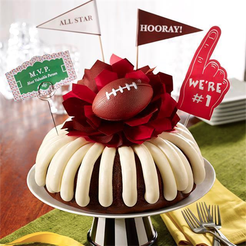 Don't forget dessert for the Super Bowl Party!
