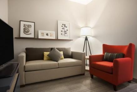 King One Bedroom Suite - Living Room