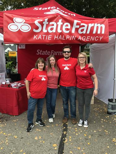 Our team having a great time at James J Hill Days