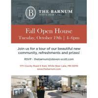 The Barnum Fall Open House