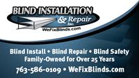Blind Installation and Repair, Inc.
