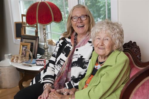 Mary T & Margaret Tjosvold, the founders of Mary T Inc