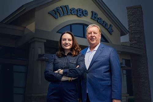 Don Kveton and Aleesha Webb know community banking because they are community banking.