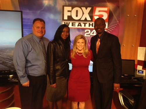 BBC with Clarissa at Fox 5 Las Vegas