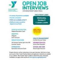 Open Job Interviews at the YMCA