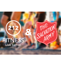 Give & Live Better Fun Run at 212 Fitness