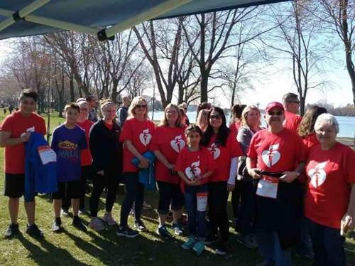 Gamber-Johnson employees at American Heart Association Walk