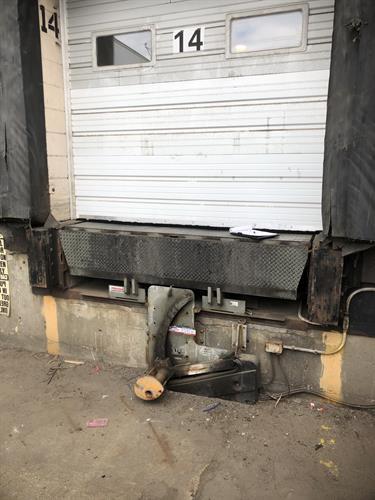 Dock equipment needing repair