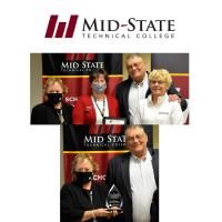 Mid-State Technical College Distinguished Alumni of the Year Wayne Bushman receives statewide 2020 Distinguished Alumni Award