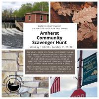 Amherst Community Scavenger Hunt!