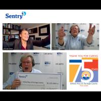 Sentry raises $1.225 Million for United Way