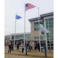Aspirus Stevens Point Hospital will Fly the Donate Life Flag April 5 to Honor Donors