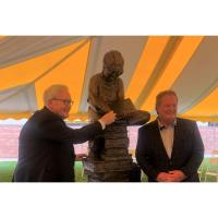 Worzalla Honors Chuck Nason, Longtime CEO and Chairman of the Board, With Statue Installation