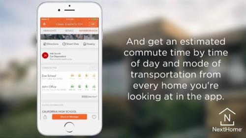 We have a great home search app for your mobile device