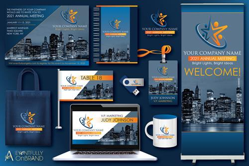 Event Branding Graphic Design Packages
