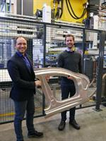 AP&T demonstrates capabilities in tooling for hot forming of high-strength aluminum