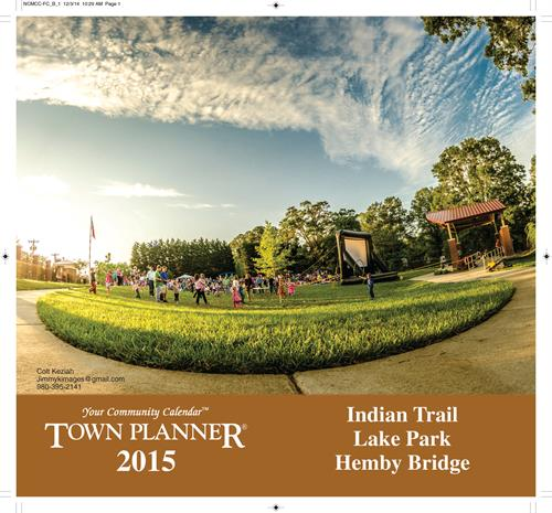 2015 Indian Trail - Hemby Bridge - Lake Park Calendar 28079