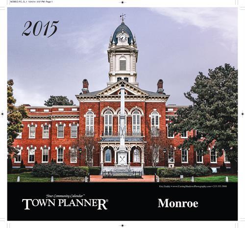 2015 Monroe - East Calendar 28110 - 28112