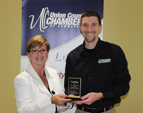 2017 CACCE Communications Excellence Award in the Electronic Category - Union County Chamber of Commerce