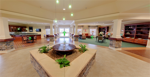 Our spacious lobby and welcoming receptionists greet you as you enter.