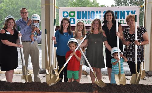 Union County Community Shelter Groundbreaking