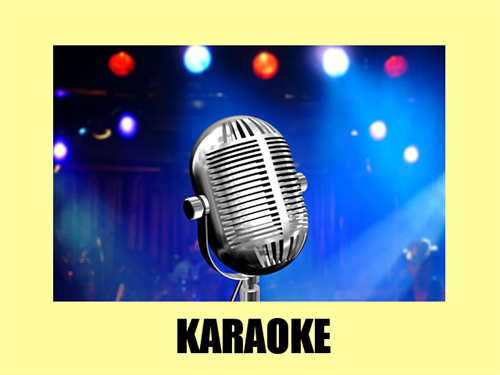 Karaoke, live in your home or business. Weekly rates available.
