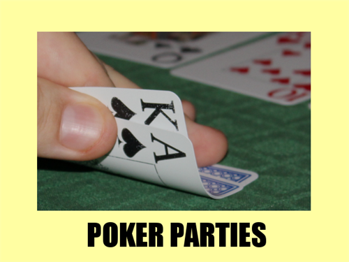 Poker Night; try our Virtually Vegas Experience with blackjack, poker and roulette tables.