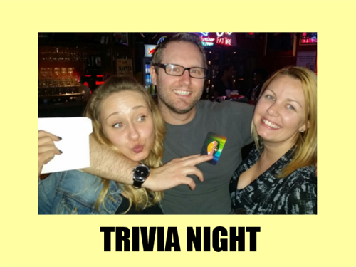 Weekly video trivia shows for businesses and private parties