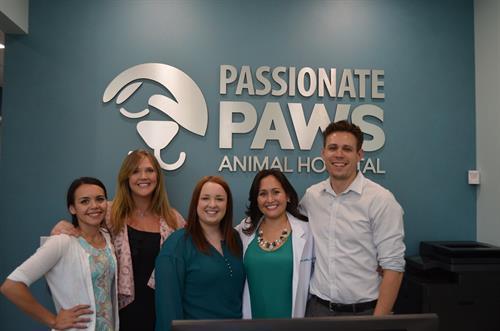 The Passionate Paws Team