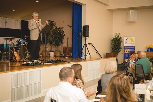 Representative Wayne Sasser at 2019 Hope and Restoration Banquet