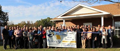 Ribbon Cutting with Union County Chamber