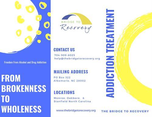 Bridge to Recovery Brochure (1 of 2)