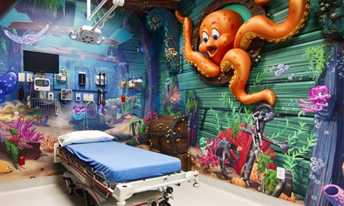 America's ER - Magnolia & Woodlands - Pediatric Suite