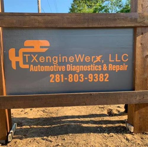 TXengineWerx LLC sign