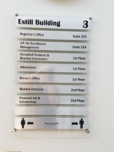 Interior Office Directional Signage