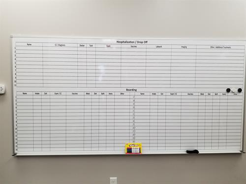 Dry Erase Production Boards
