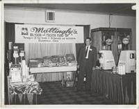 Bob Mattingly ready to sell at food show