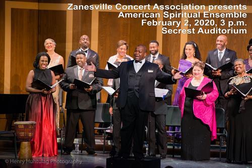 American Spiritual Ensemble February 2, 2020, 3p
