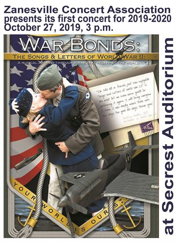War Bonds: The Songs & Music of World War II October 27, 2019, 3p