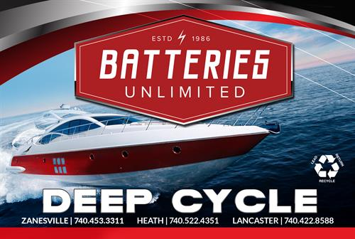 Deep Cycle Batteries Available
