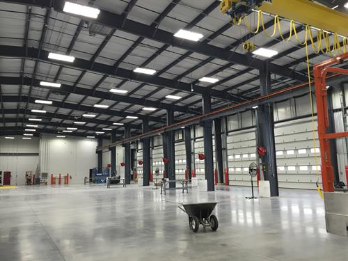 We operate 24 service bays with state-of-the-art features designed to maximize throughput and get customers moving faster.