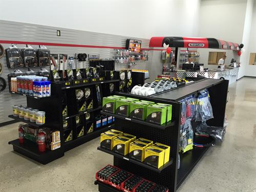 Our parts store is open extended hours six days a week.
