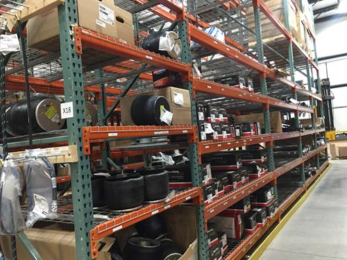 We carry over $1.5M in OEM and aftermarket/all-makes truck and trailer parts inventory and offer free delivery in area.