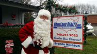 Even Santa chooses Homeland Realty, Inc.!