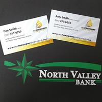 Thank You North Valley Bank!  We couldn't of done it without you!
