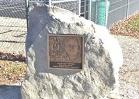 Matt Brown bronze plaque at Philo Soccer field