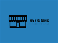Ribbon Cutting for New 4 You Surplus