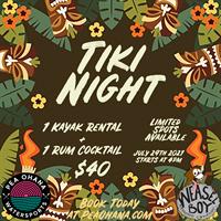 Pea Ohana Tiki Night