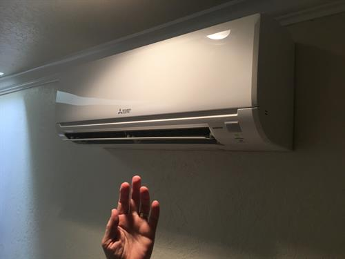 Our ductless systems offer precise temerature control and outstanding energy efficiency.
